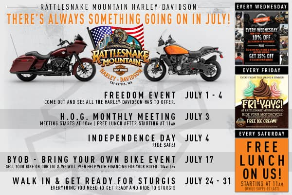 July Events!