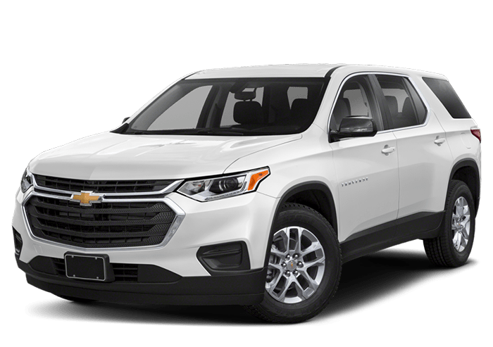 2020 Chevy Traverse White