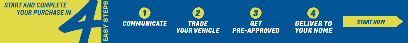 Purchase your vehicle online in 4 steps