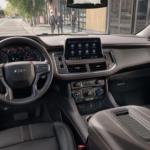 2021 chevy tahoe black leather interior