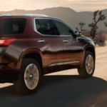 2021 chevy traverse red exterior