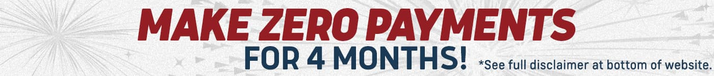 Make zero payments