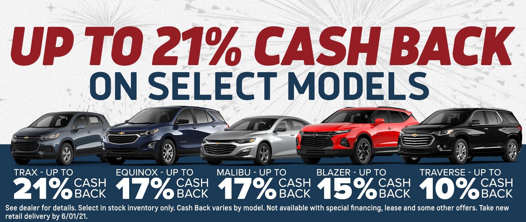 Up to 21% Cashback