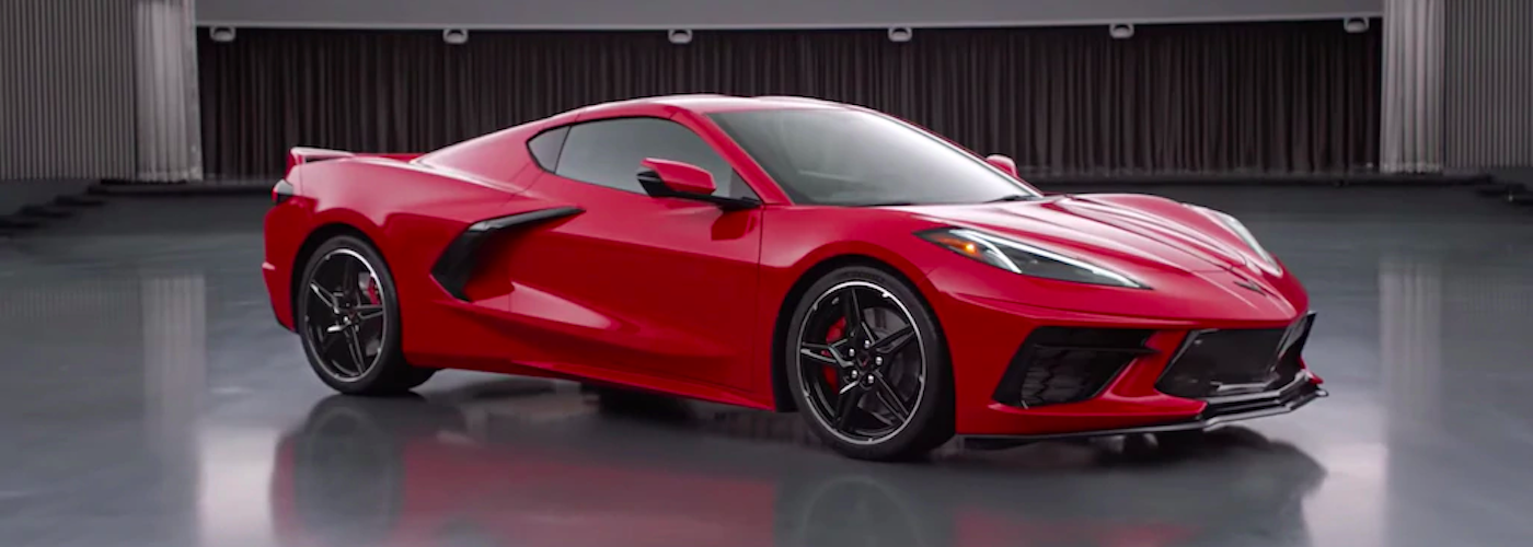 2020 chevrolet corvette c8 red exterior