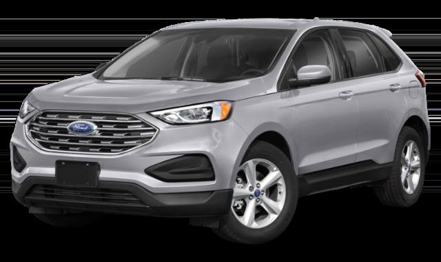 2020 ford edge silver white exterior