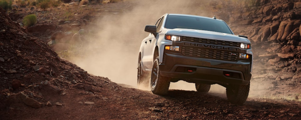 2021 chevy silverado 1500 off roading