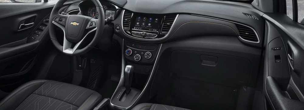 2021 chevy trax black leather interior