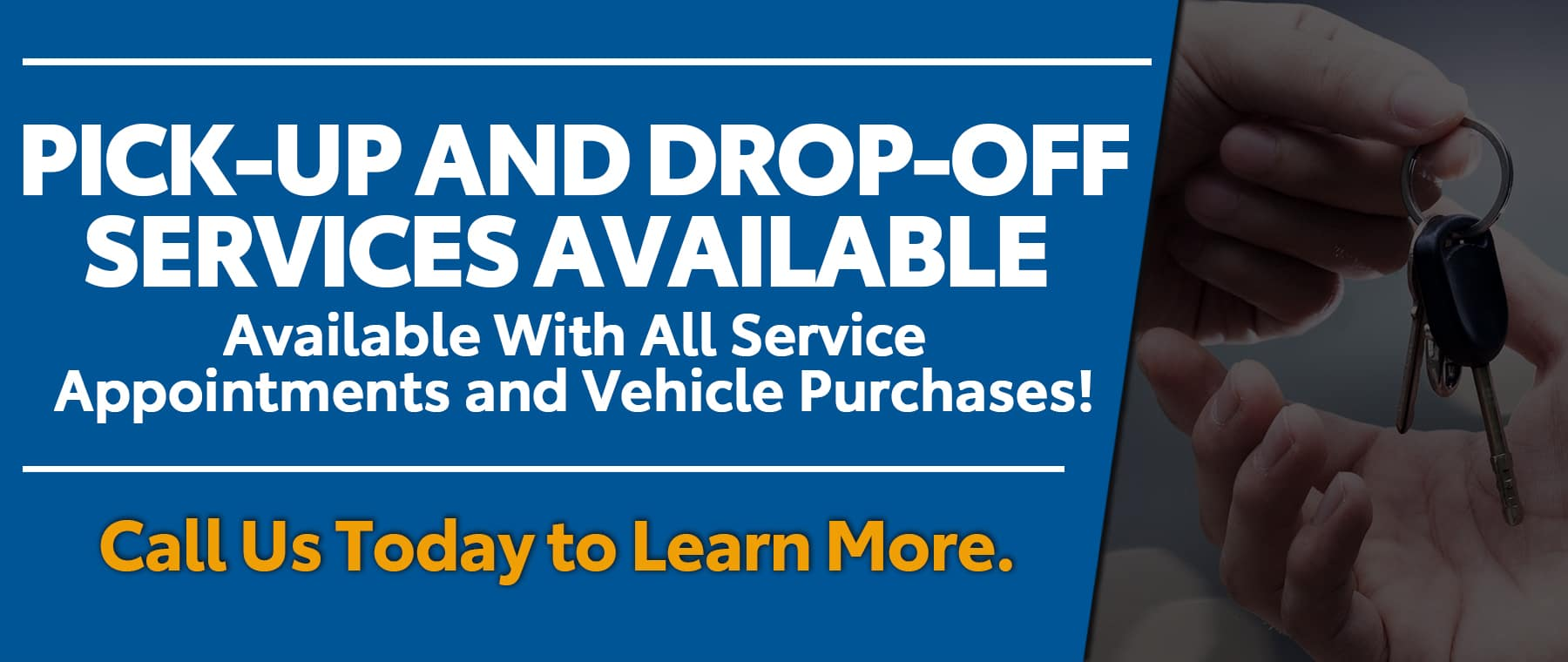 Pick Up Drop Off Services