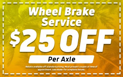Wheel Brake Service