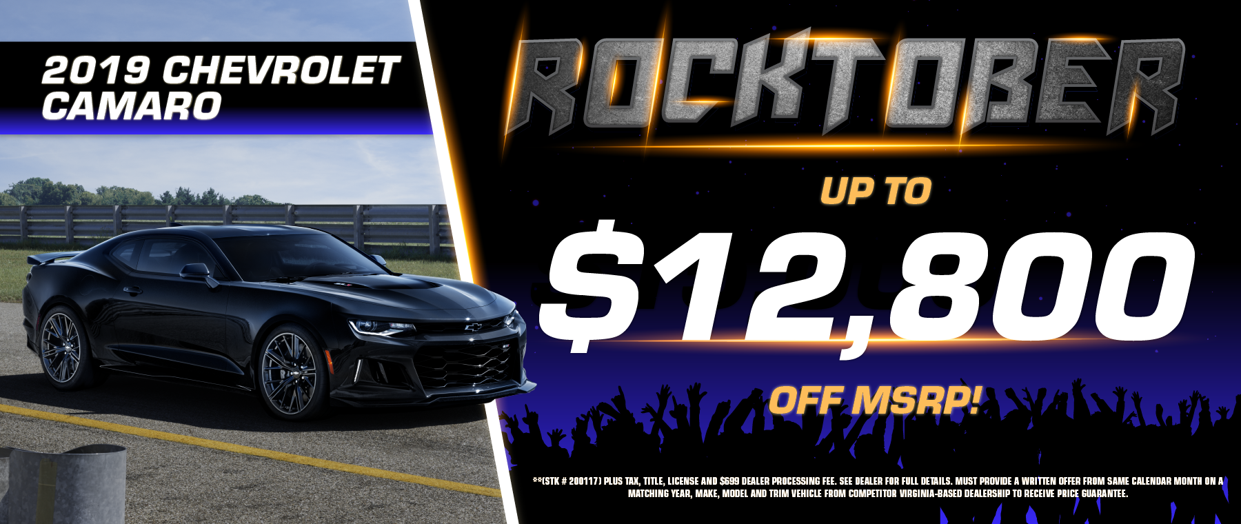2019 Chevy Camaro Offer!
