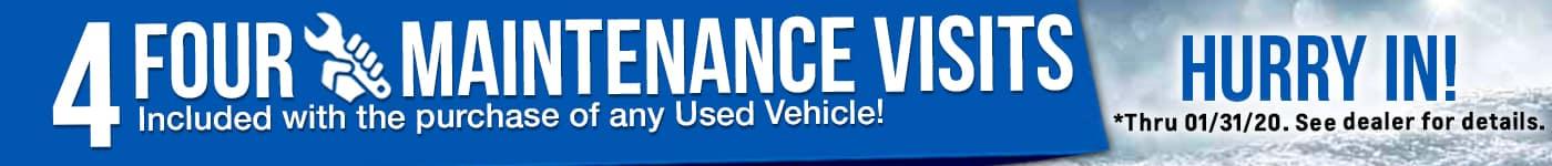 Used Vehicle Comp Maintenance