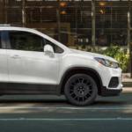 2022 chevy trax white exterior