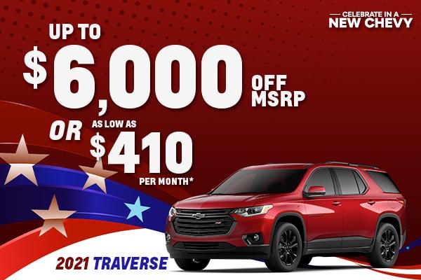 2021 Chevy Traverse