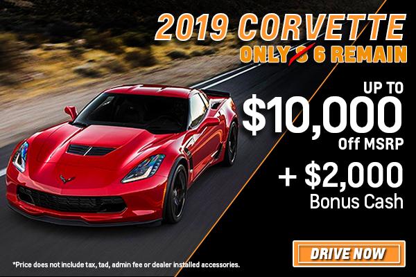 2019 Corvette Inventory