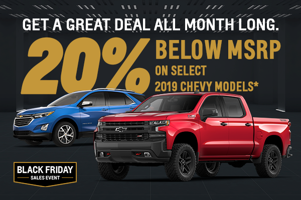 2019 Chevy Models