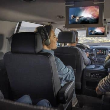 2019 Chevy Tahoe Rear Entertainment