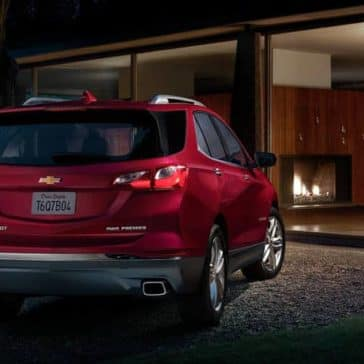 2020 Chevy Equinox Rear