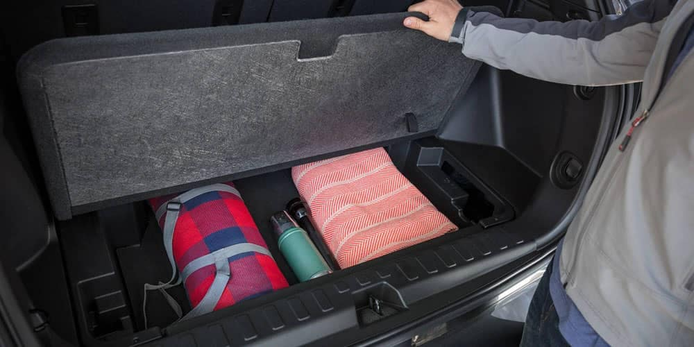 2020 Chevy Equinox Storage