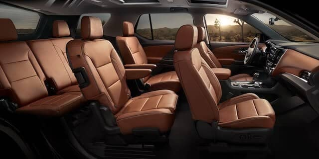 2020 Chevy Traverse Seating
