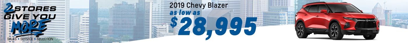 Chevy Blazer Special Offer February