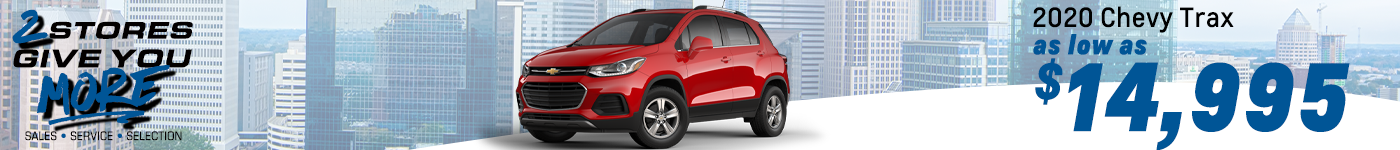 2020 chevy trax near me