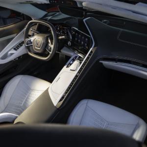Front Interior Corvette