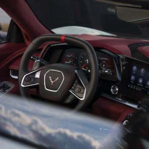 Interior Steering Wheel Corvette C8