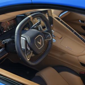 Interior Front Dashboard 2020 Corvette