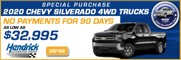 2020 silverado trucks no payments for 90 days 32,995