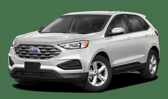 2020 ford edge white exterior