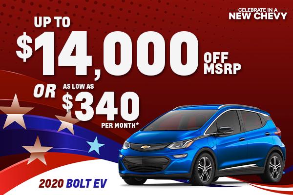 2021 Chevrolet Bolt