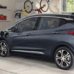 2021 chevy bolt ev charging in garage