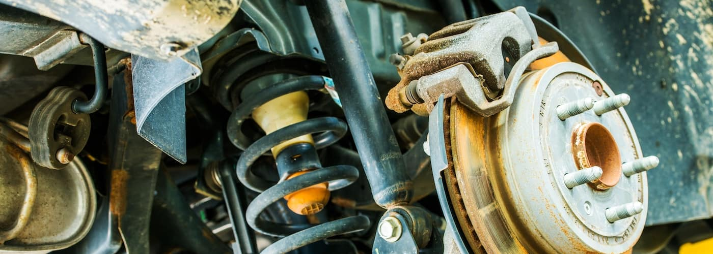 car brakes and suspension