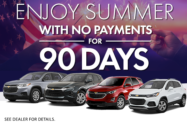 July New Vehicles Offer