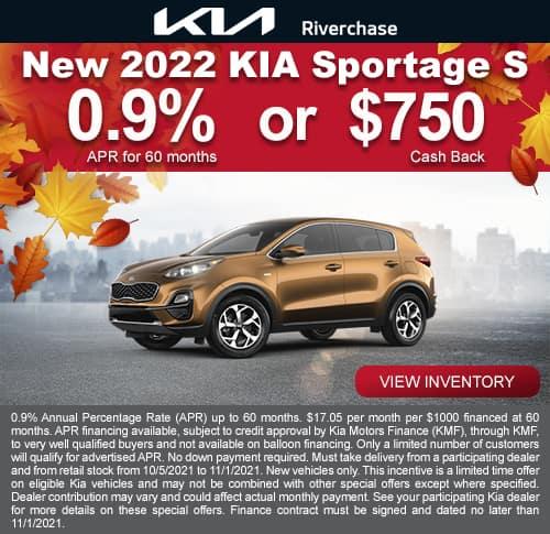 2022 Kia Sportage S