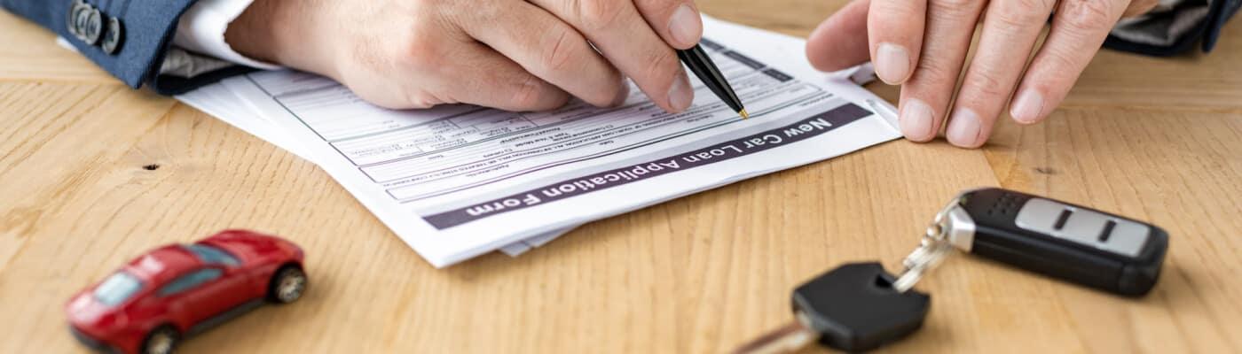Car-buying paperwork