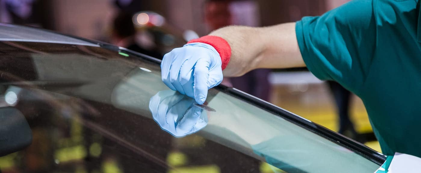 Peeling Sticker Off Windshield