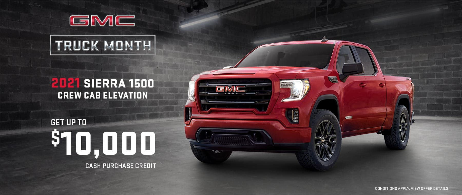 GMC Truck Month March