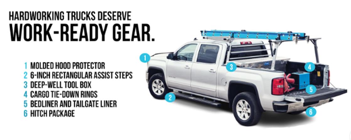 Work Ready Gear truck image