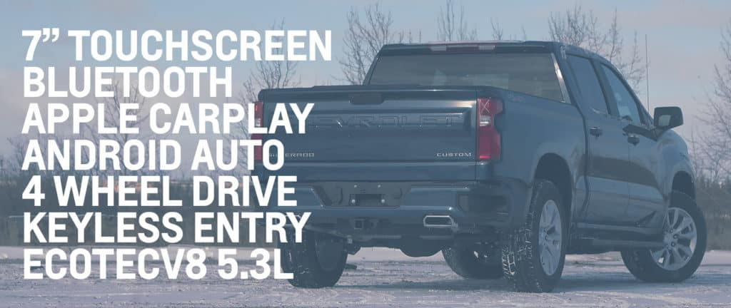 Accessories available on Chevy 2020 1500