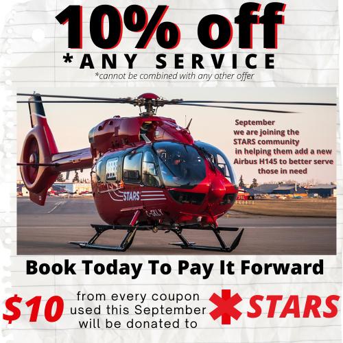Car repair, September deal, coupon,