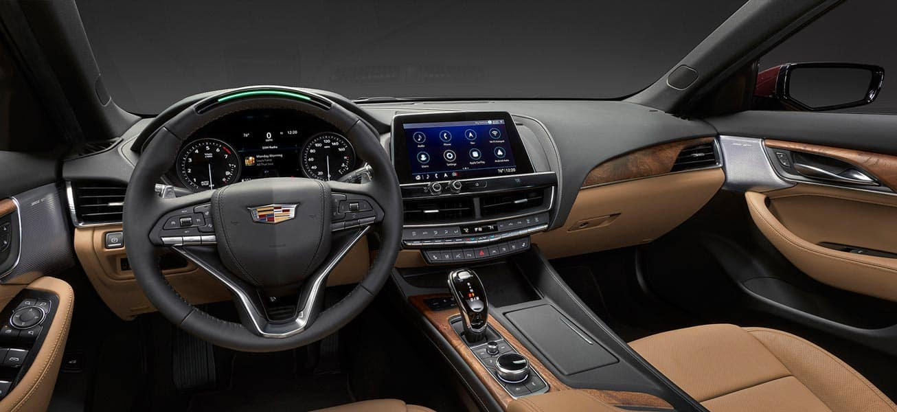 2020 Cadillac CT5 Interior Cockpit view