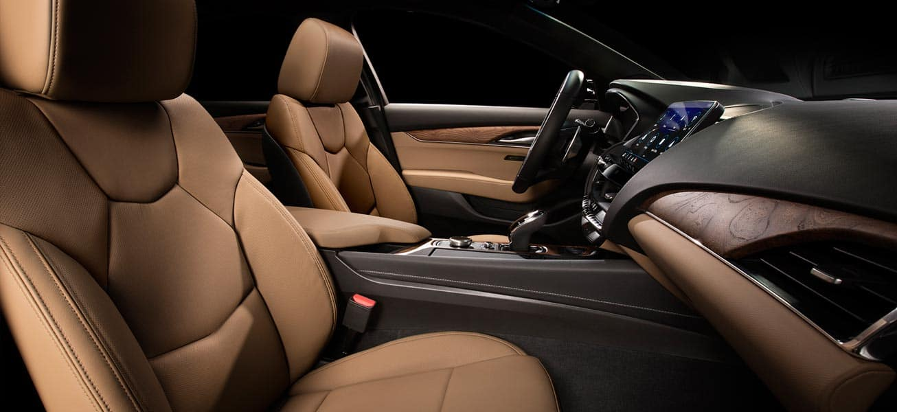 2020 Cadillac CT5 interior seats view