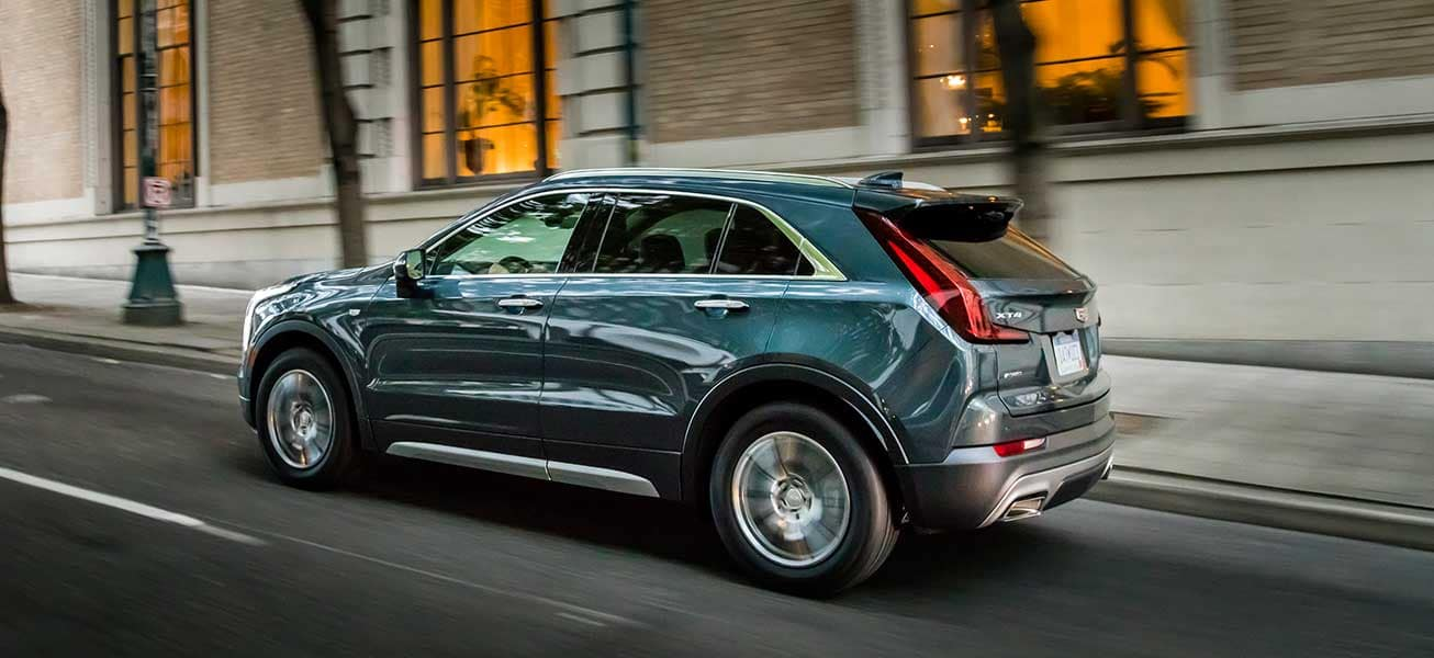 2020 Cadillac XT4 driving near Woodridge ON