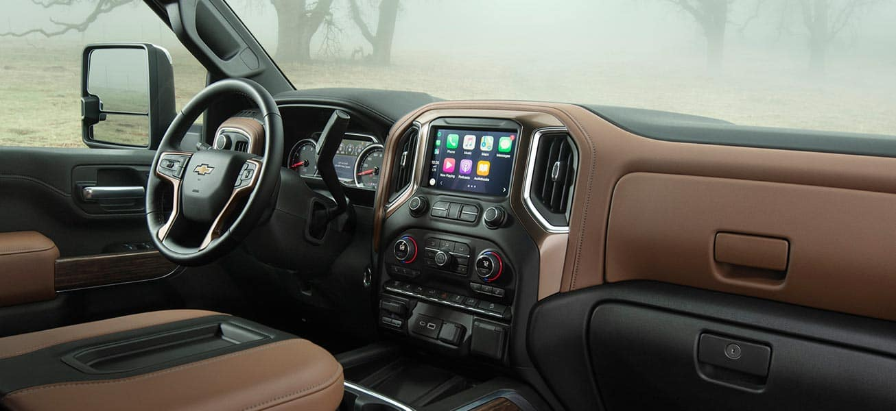 2020 Chevrolet Silverado 3500HD High Country interior view