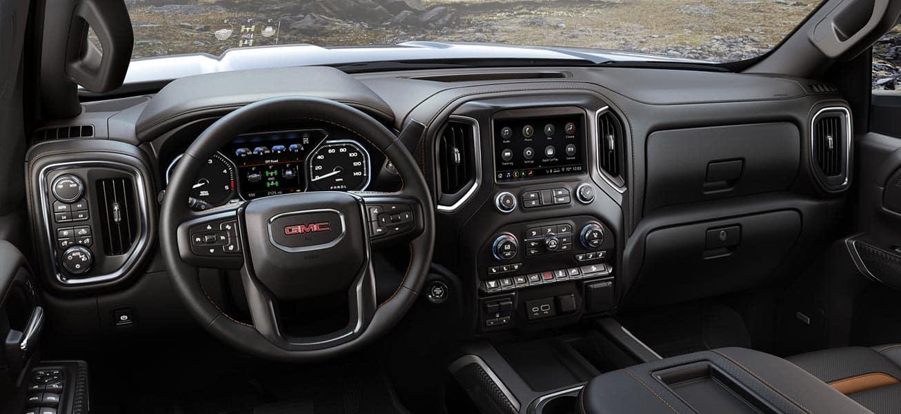 2020 GMC Sierra 2500HD interior view