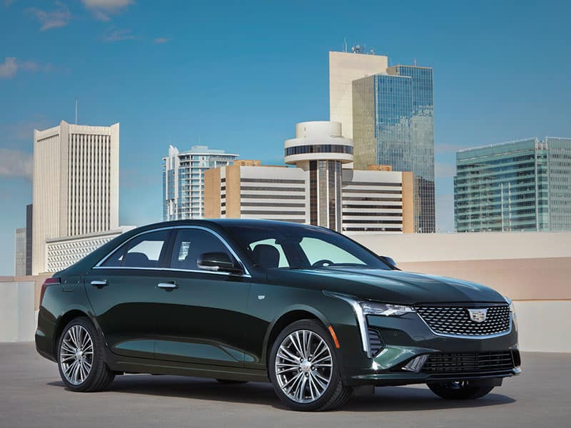 2021 Cadillac CT4 four available trim levels