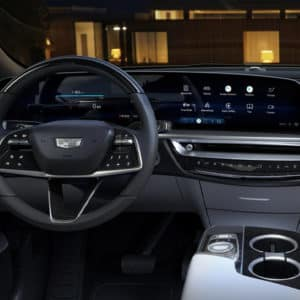 2023 Cadillac LYRIQ Cockpit View