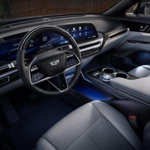 2023 Cadillac LYRIQ Driver Entry View