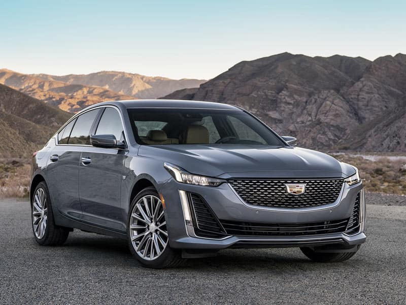 New 2021 Cadillac CT5 available in four trim levels